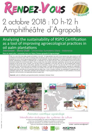 A noter sur vos agendas - Séminaires scientifiques : 