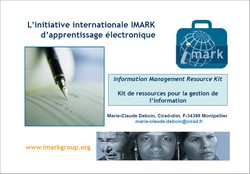 initiative internationale Imark d'apprentissage électronique