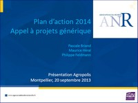 plan d'action projets anr 2014