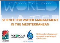 présentation 6th world water forum 2012