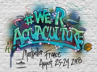 Call for abstracts until April 10, 2018 and registration open for AQUA2018 - World Congress of Aquaculture - August 25 - 29, 2018, Le Corum, Montpellier