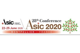 Inscriptions ouvertes pour la 28ème conférence de l'ASIC (Association for the Science and Information on Coffee) se déroulera à Montpellier  (22-26/06/2020, Campus la Gaillarde, Montpellier)