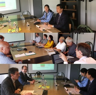 Visit of CAAS (Chinese Academy of Agricultural Sciences) to Montpellier on 14 May 2018 to consolidate Sino-European partnership