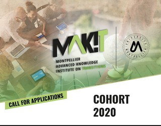 "Launching of the call for applications ""COHORT"" until 15 March 2020, dedicated on the issue of ""fake news"" and its relation to science (project MAK'IT - I-Site MUSE)"