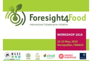Foresight4Food Initiative: 60 international experts present in Montpellier from 22 to 24 May 2018