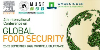 Covid-19 pandemic/Postponement of the 4th International Conference on Global Food Security : New date 20-23 September 2020, Montpellier (Former date: 15-18 June 2020)