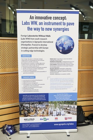 Presentation of the Laboratories without walls concept (Labs WW) on the occasion of the conference-debate «Rural employment and agricultural models: Issues and experiences shared from Europe, the Mediterranean Basin and Africa» held at the European Parliament in Brussels, on 10th May 2017