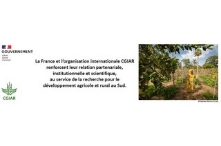International agricultural research: presentation and signature of an action plan between France and the CGIAR, 04/02/21
