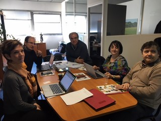Visit of CIBIO (University of Porto) to Labex Europe in Montpellier, 13th March 2018