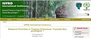 site la conférence internationale 'Research priorities in tropical silviculture: towards new paradigms?