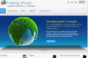 "Site du projet ""Feeding the planet - European Bio Food Clusters on the World Stage"